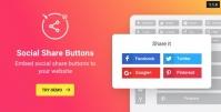 WordPress Social Share Plugin – Share Buttons 1.6.1