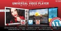 Universal Video Player – WordPress Plugin 3.7.2
