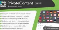 PrivateContent – Multilevel Content Plugin 7.32