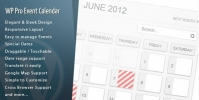 WordPress Pro Event Calendar 3.2.7