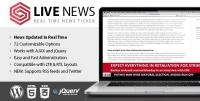 Live News – Real Time News Ticker 2.14