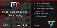 Mega Posts Display for Visual Composer 1.0