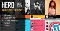 Hero – Shoutcast and Icecast Radio Player With History Plugin 4.1.3.0