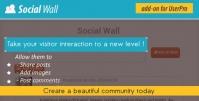Social Wall Addon for UserPro 4.3
