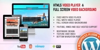 Video Player & FullScreen Video Background – WP Plugin 2.0.2