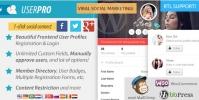 UserPro – User Profiles With Social Login 4.9.39
