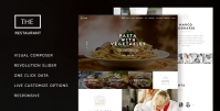 The Restaurant – Restaurant and Catering One Page Theme 1.4