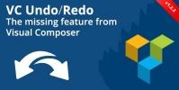 Visual Composer Undo/Redo Buttons 1.2.5
