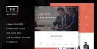 The Business – Powerful One Page Biz Theme 1.5