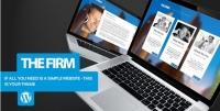 The Firm – Simple Company WordPress Theme 1.4