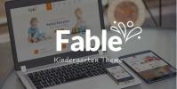 Fable – Children Kindergarten WordPress Theme 3.1