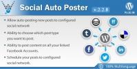 Social Auto Poster – WordPress Plugin 4.0.11